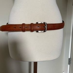 Stetson belt leather brown 38 40